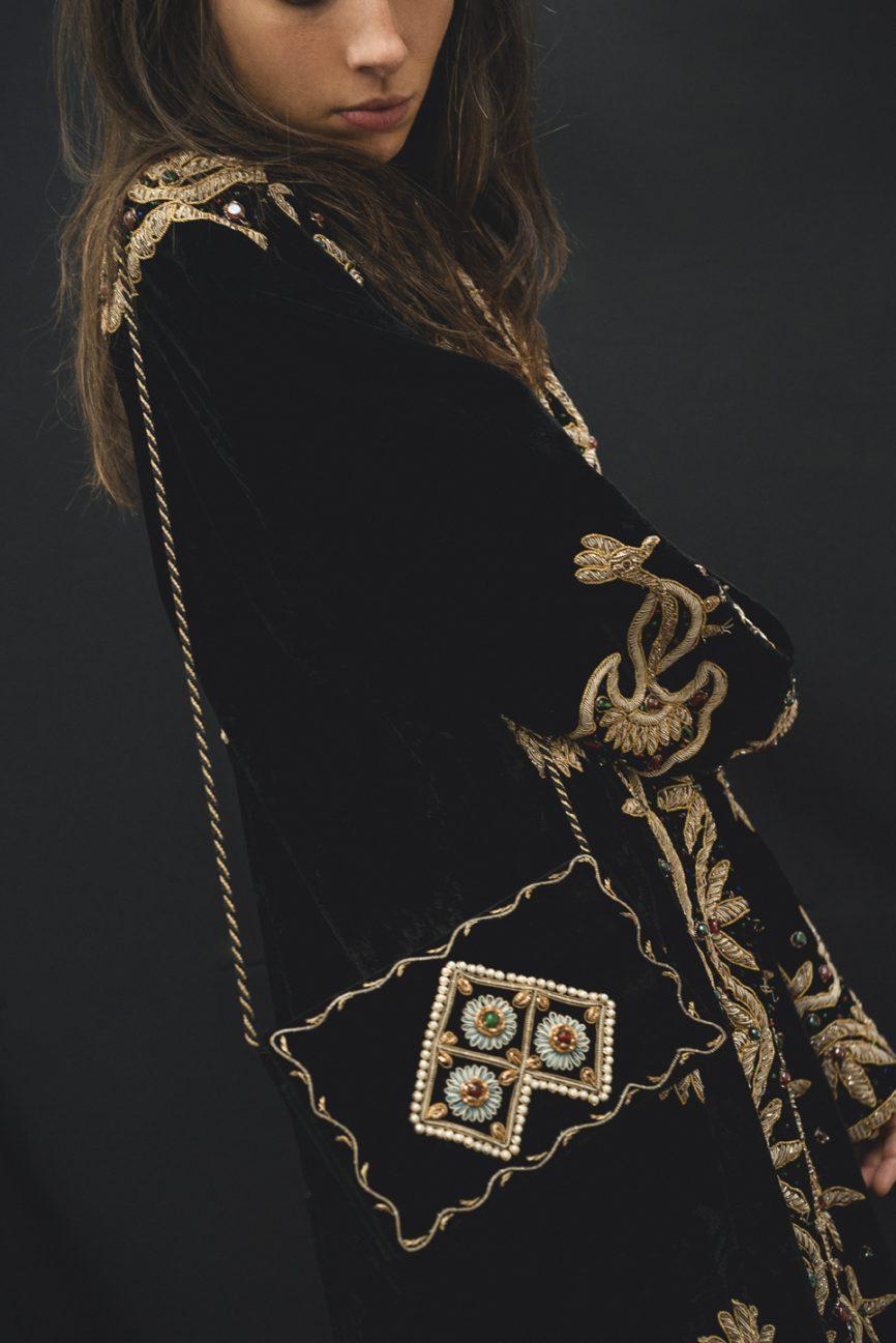 abrigo bordado vintage 3