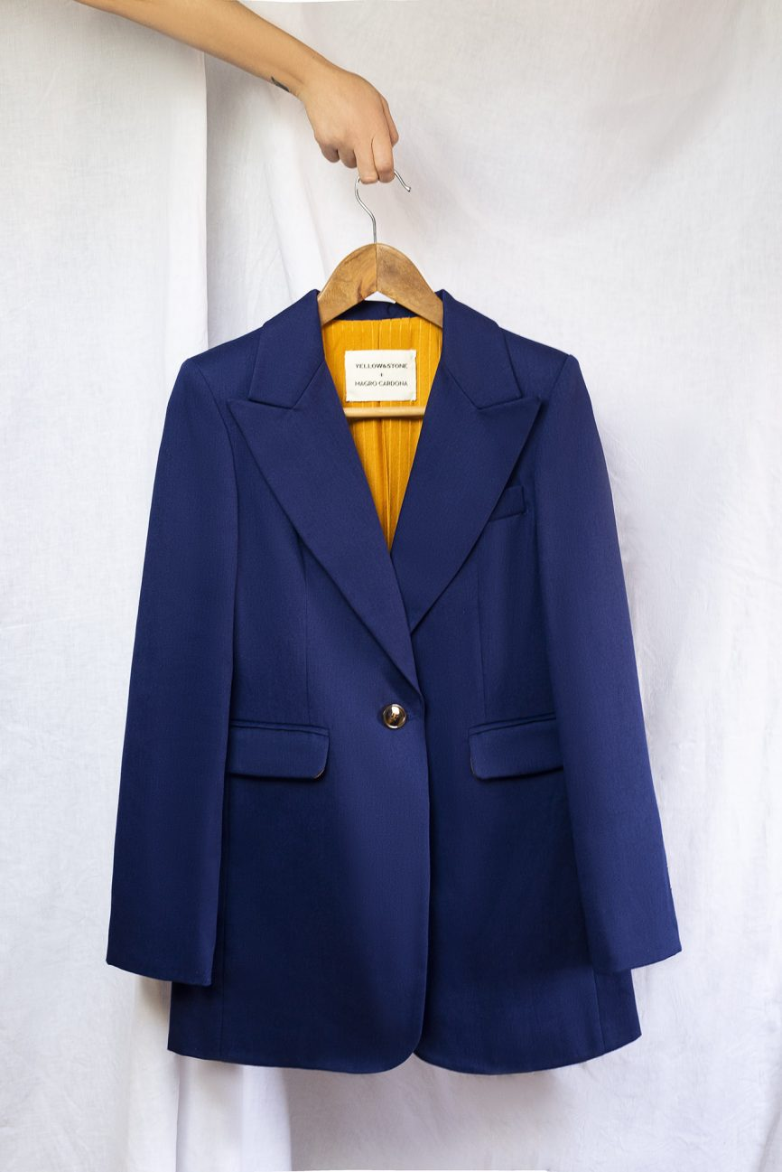 yellow&stone + magro cardona blazer 2