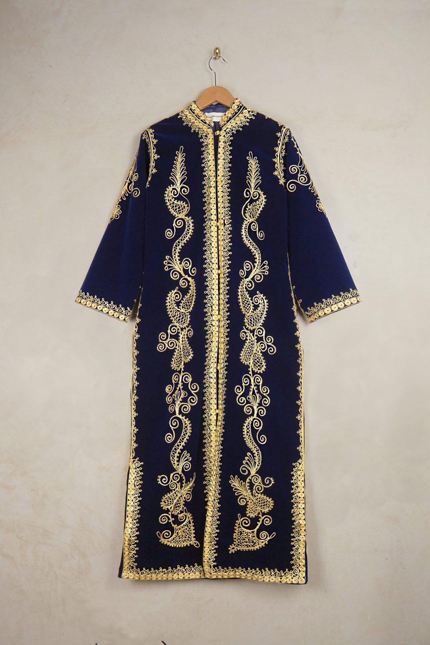 vintage velvet coat 1